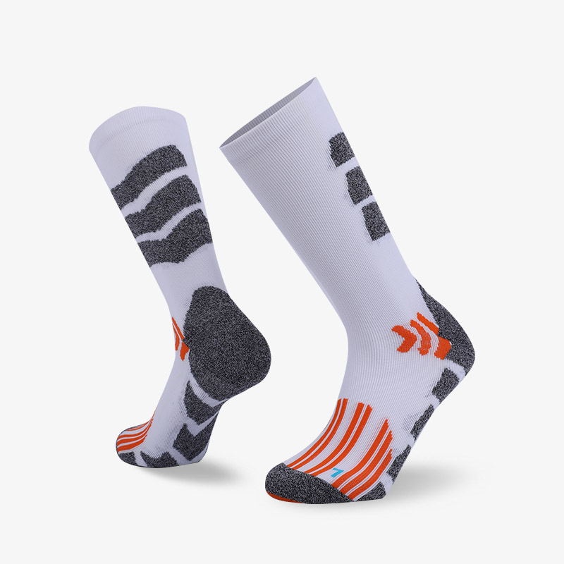 144N White body with gray stripes sport series