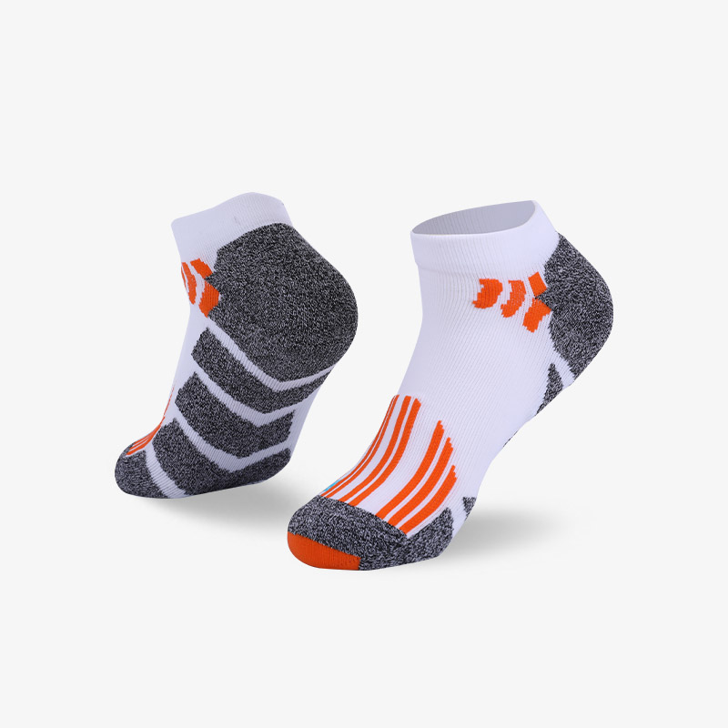 144N White body gray bottom sport series terry socks