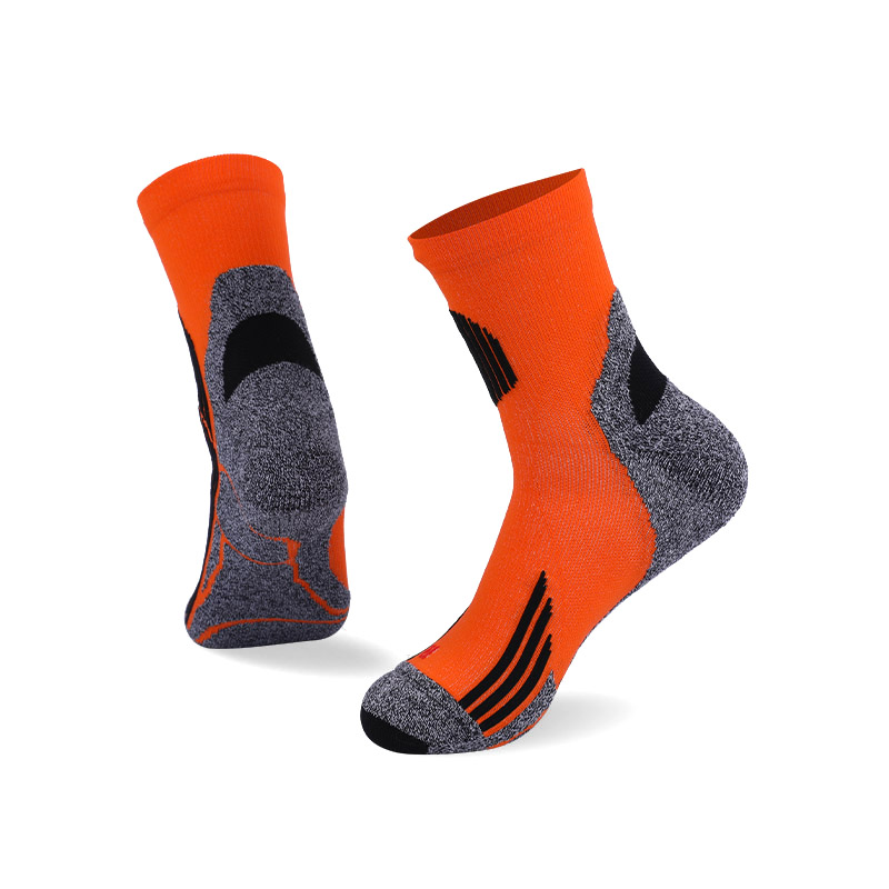 144N Fluorescent orange with black stripes sport series