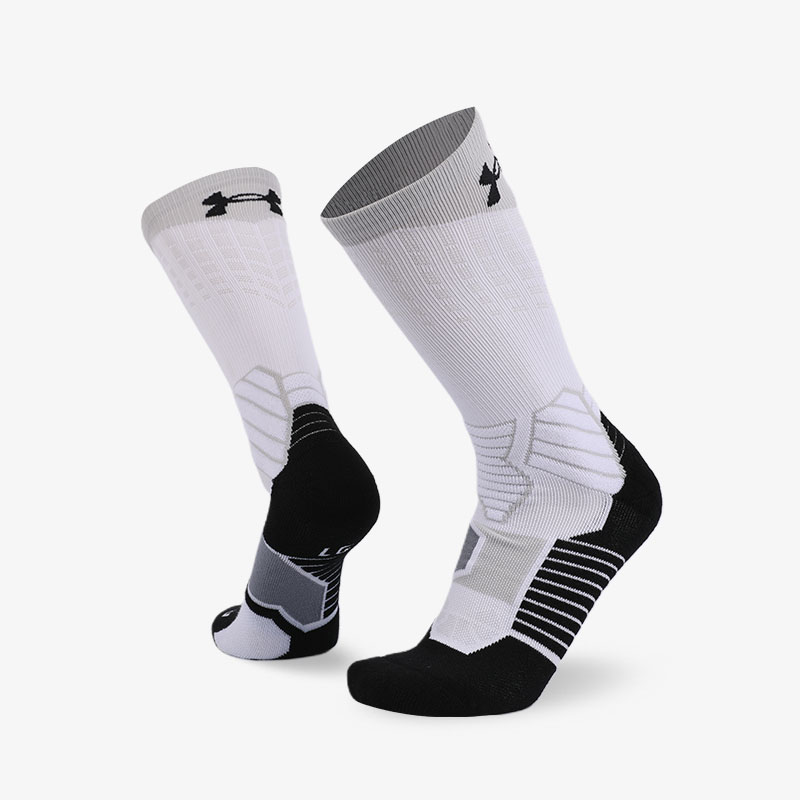 144N White body gray seal sport series terry socks