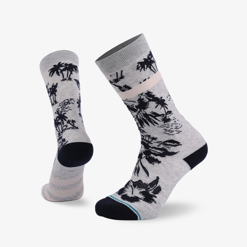 200N Island scenery normal terry socks