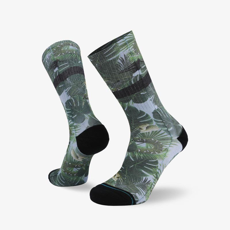 200N Rainforest sublimation series terry socks
