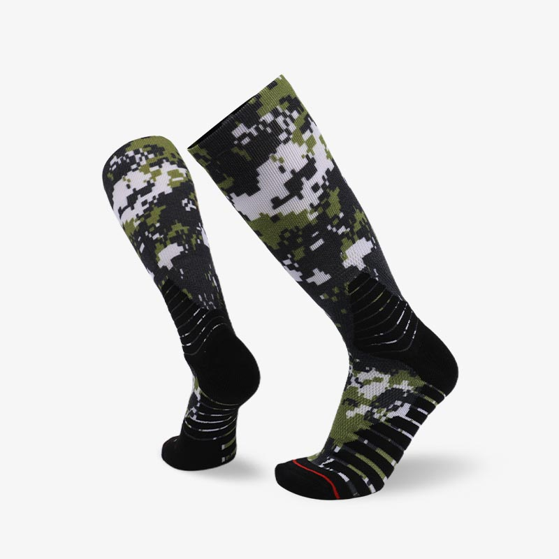 200N Camouflage sublimation series terry socks