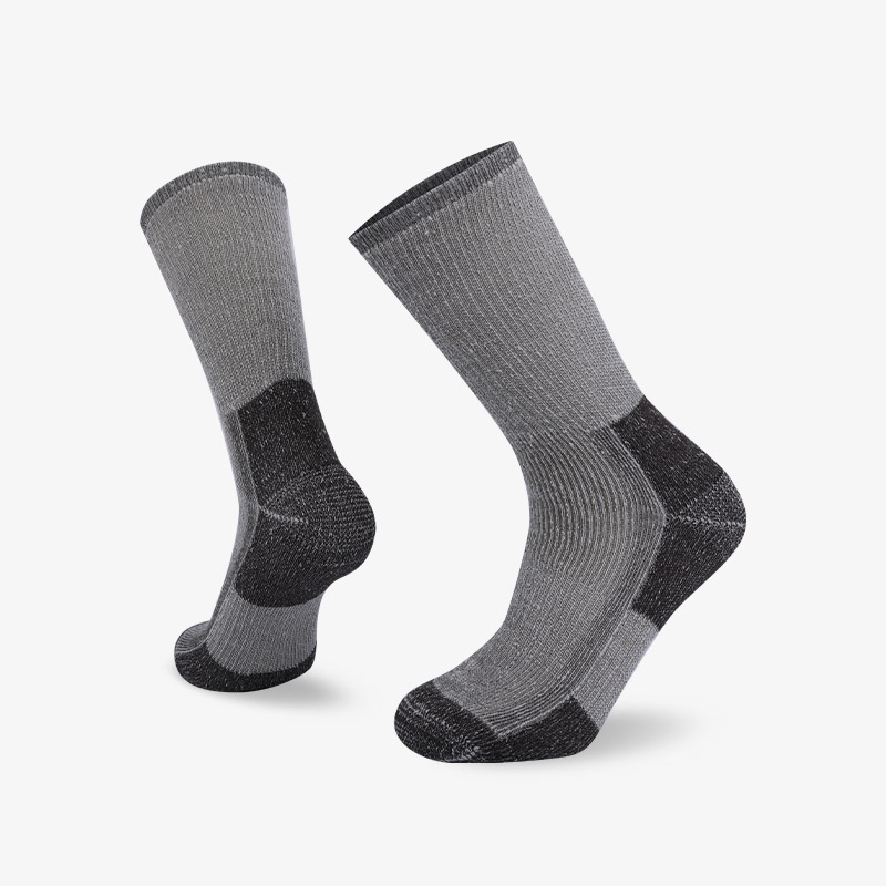 84N Blue in gray hiking sock