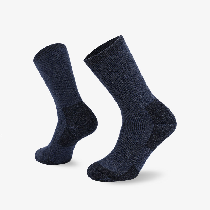 84N Navy blue hiking sock