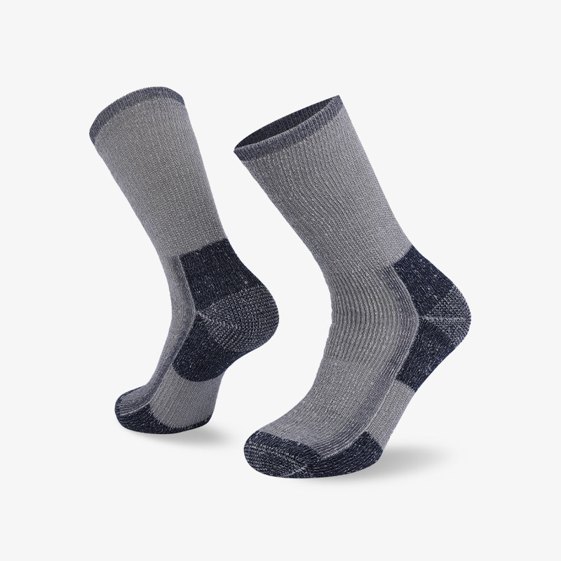 84N gray-toe hiking sock