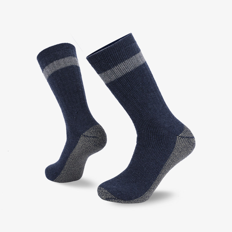84N Dark blue gray hiking sock