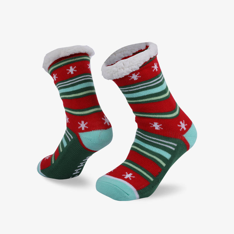96N Christmas sonw sock